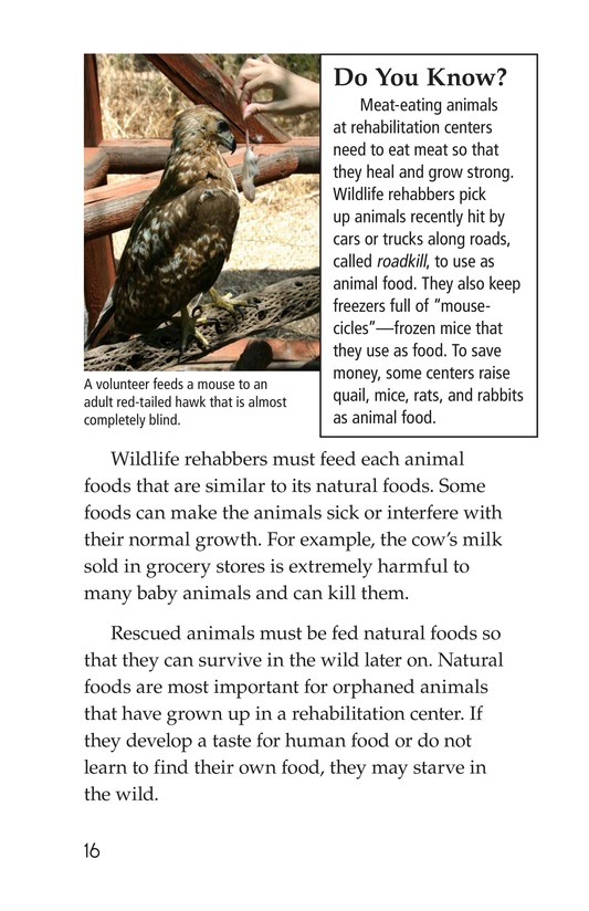 Book Preview For Wildlife Rescue Page 16