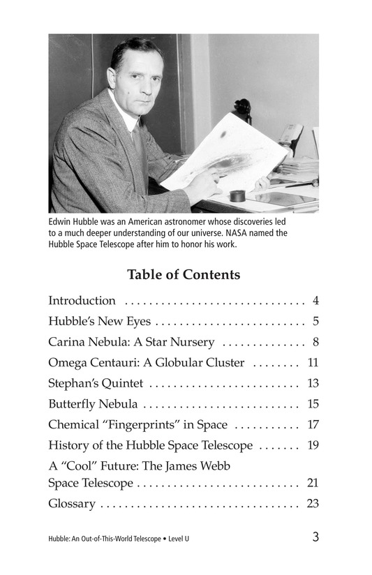 Book Preview For Hubble: An Out-of-This-World Telescope Page 3