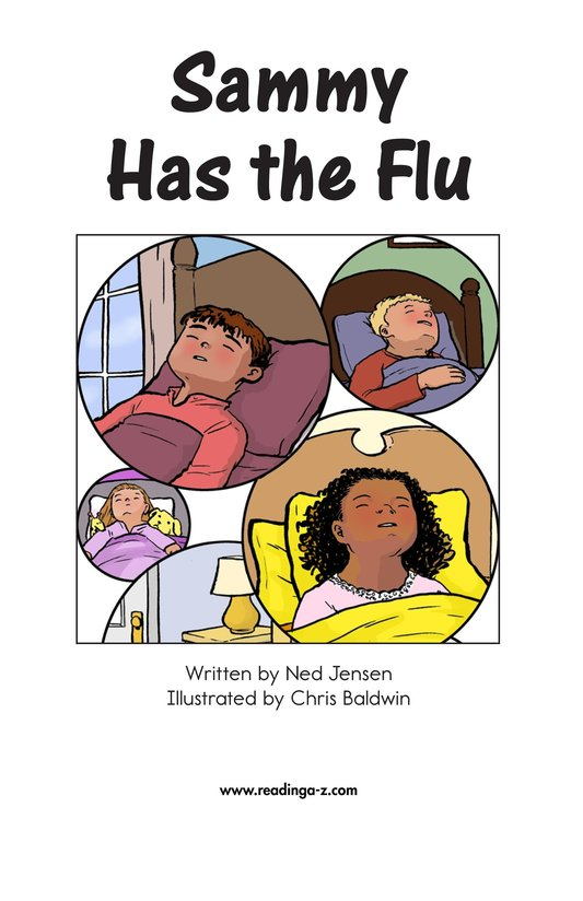 Book Preview For Sammy Has the Flu Page 2