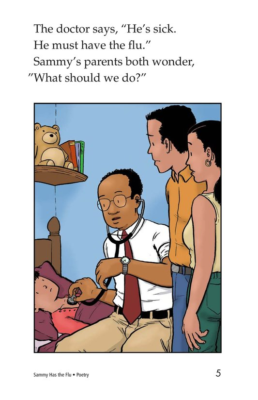 Book Preview For Sammy Has the Flu Page 5