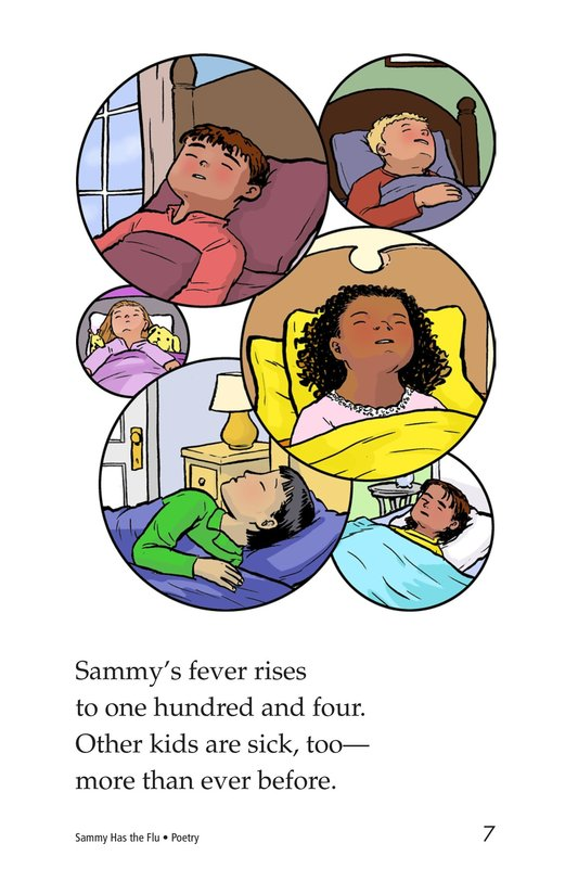 Book Preview For Sammy Has the Flu Page 7