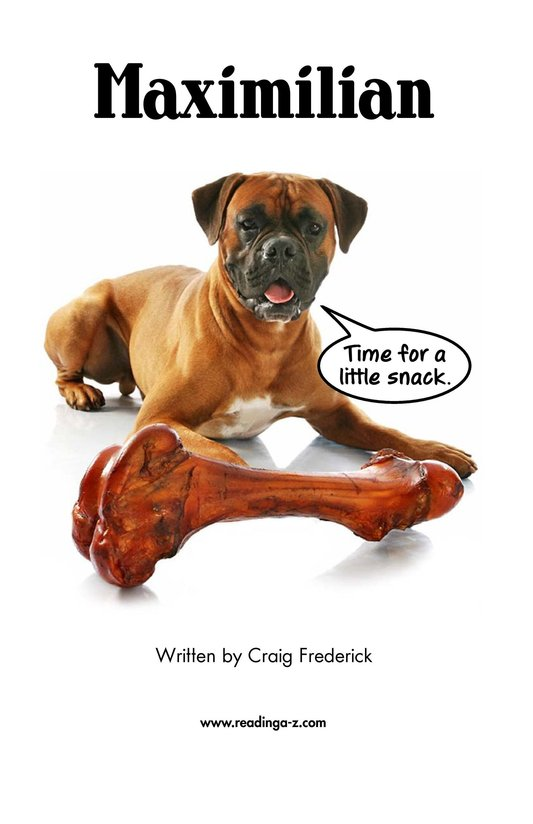 Book Preview For Maximilian Page 2