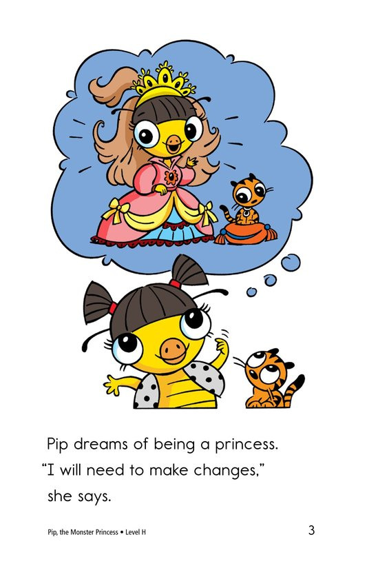 Book Preview For Pip, the Monster Princess Page 3