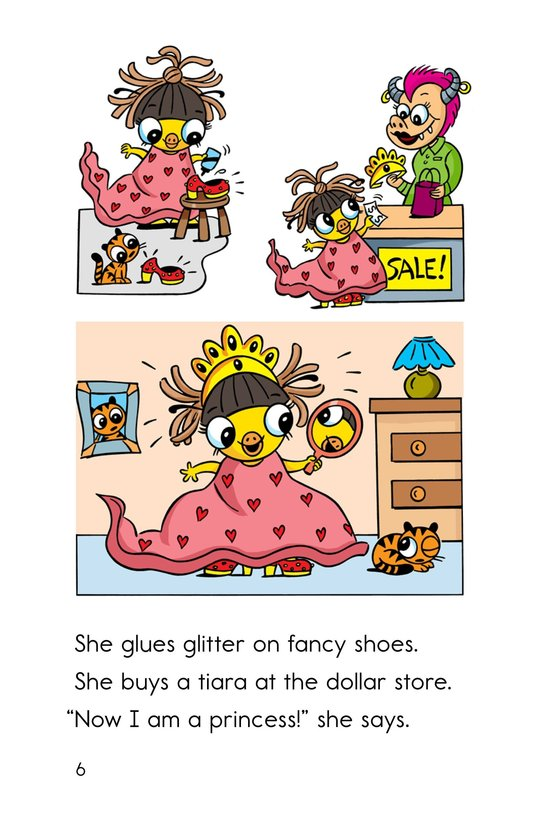 Book Preview For Pip, the Monster Princess Page 6