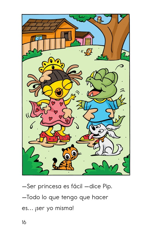 Book Preview For Pip, the Monster Princess Page 16