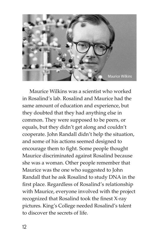 Book Preview For Rosalind Franklin's Beautiful Twist Page 12