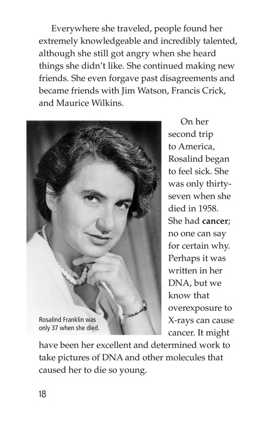 Book Preview For Rosalind Franklin's Beautiful Twist Page 18