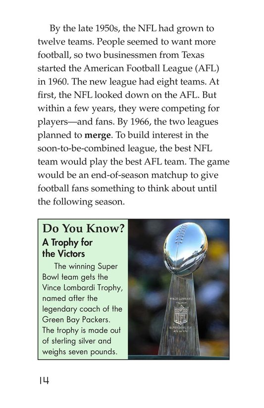 Book Preview For Going to the Super Bowl Page 14