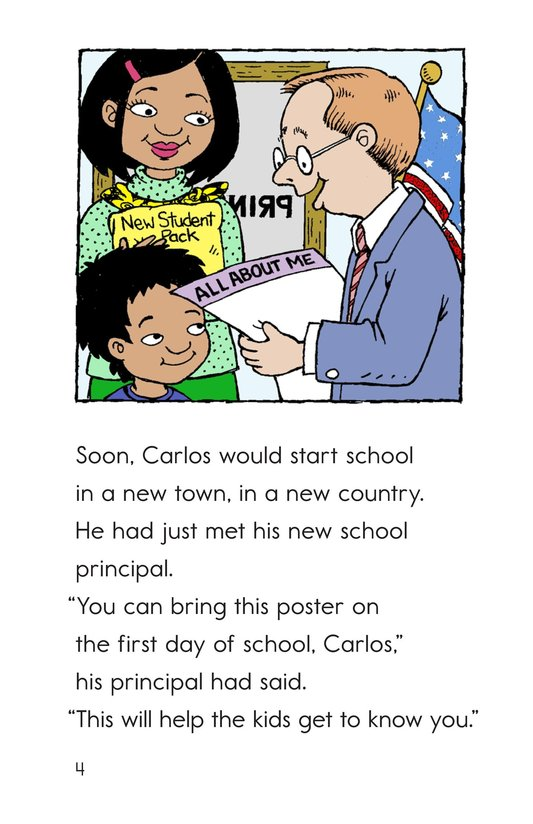 Book Preview For Welcome, Carlos! Page 4