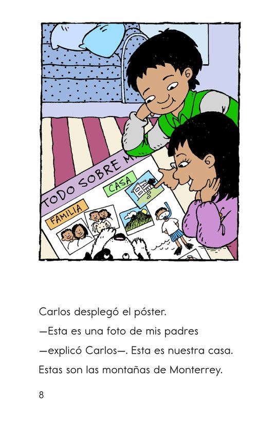 Book Preview For Welcome, Carlos! Page 8