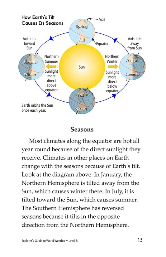 Book Preview For Explorer's Guide to World Weather Page 13