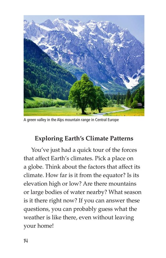 Book Preview For Explorer's Guide to World Weather Page 14