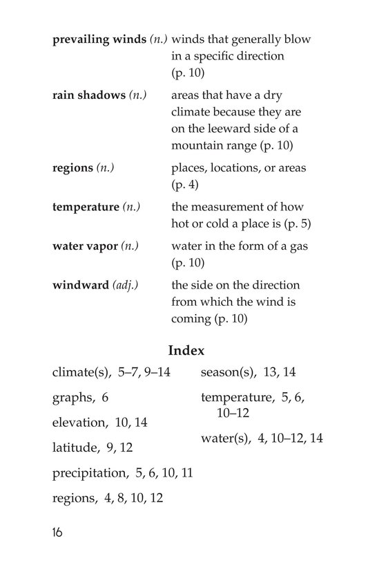 Book Preview For Explorer's Guide to World Weather Page 16