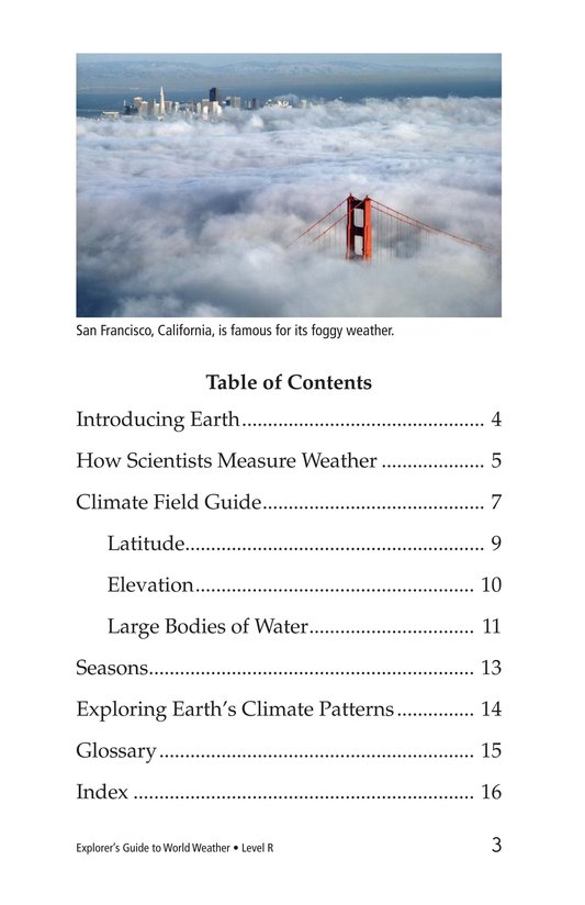 Book Preview For Explorer's Guide to World Weather Page 3