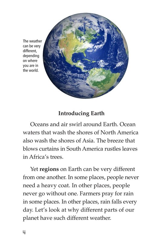 Book Preview For Explorer's Guide to World Weather Page 4