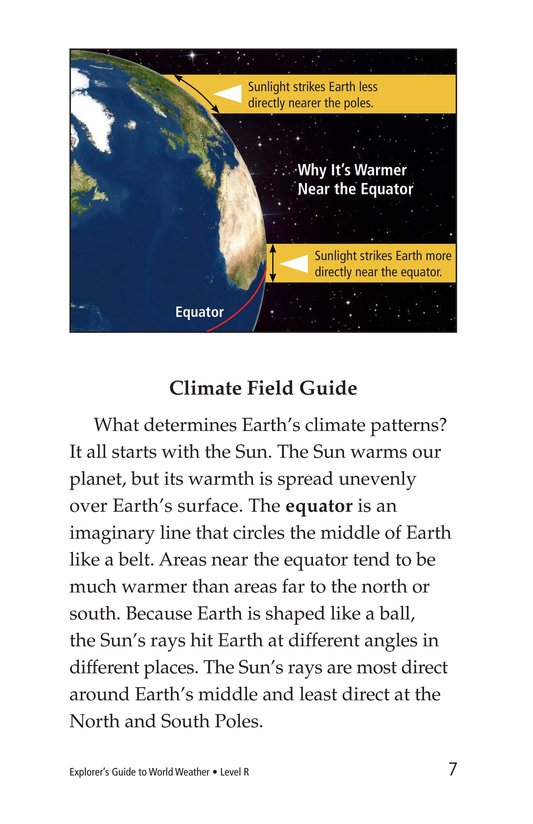 Book Preview For Explorer's Guide to World Weather Page 7