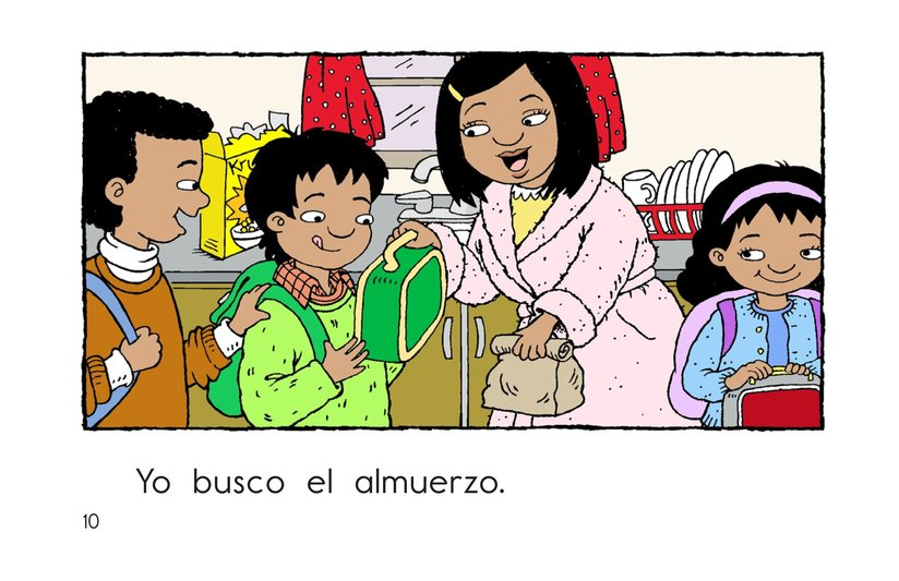 Book Preview For Carlos Goes to School Page 10