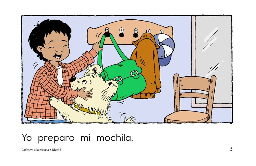 Book Preview For Carlos Goes to School Page 3