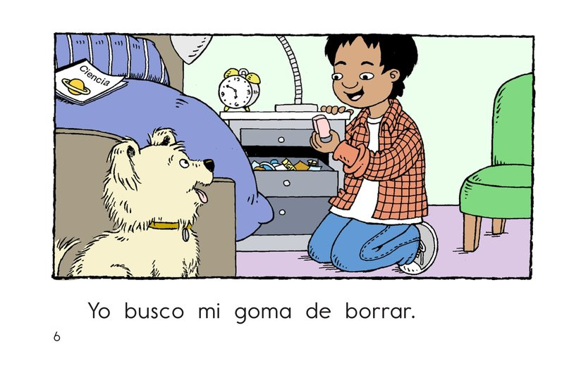 Book Preview For Carlos Goes to School Page 6