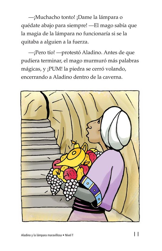 Book Preview For Aladdin and the Wonderful Lamp Page 11