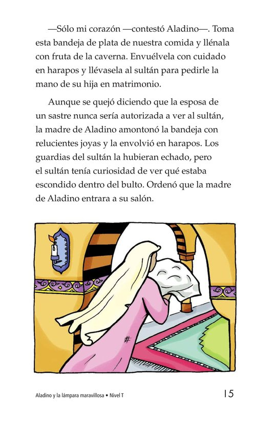 Book Preview For Aladdin and the Wonderful Lamp Page 15