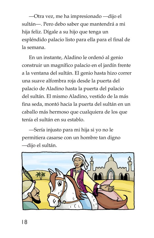 Book Preview For Aladdin and the Wonderful Lamp Page 18