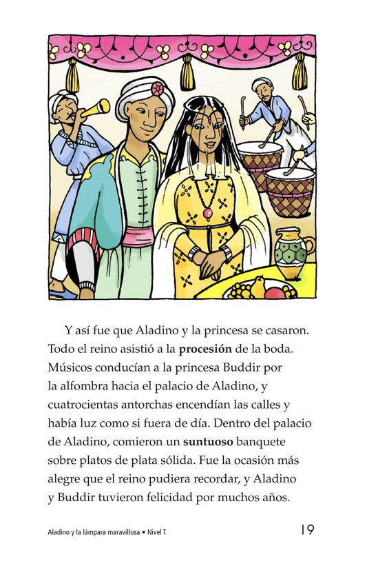 Book Preview For Aladdin and the Wonderful Lamp Page 19