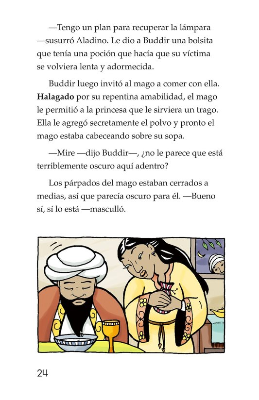 Book Preview For Aladdin and the Wonderful Lamp Page 24
