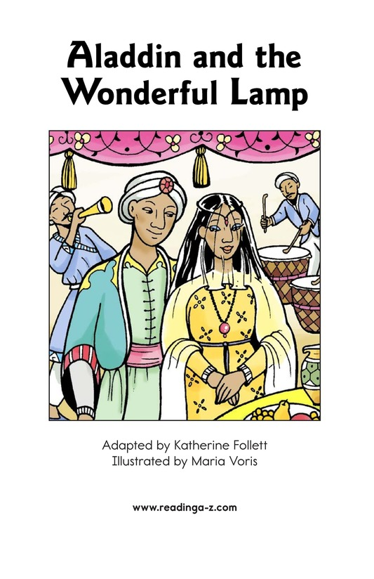 Book Preview For Aladdin and the Wonderful Lamp Page 2