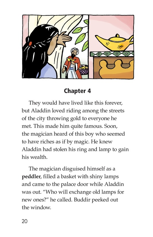 Book Preview For Aladdin and the Wonderful Lamp Page 20