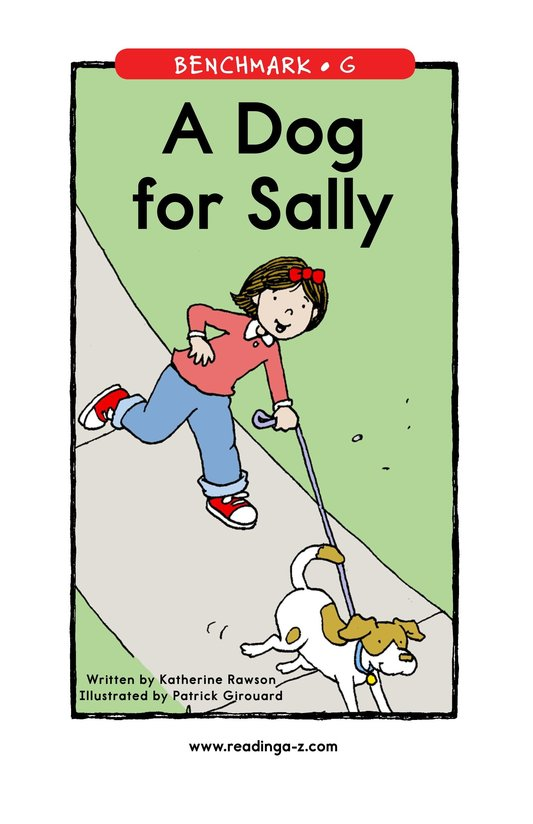 Book Preview For A Dog for Sally Page 1