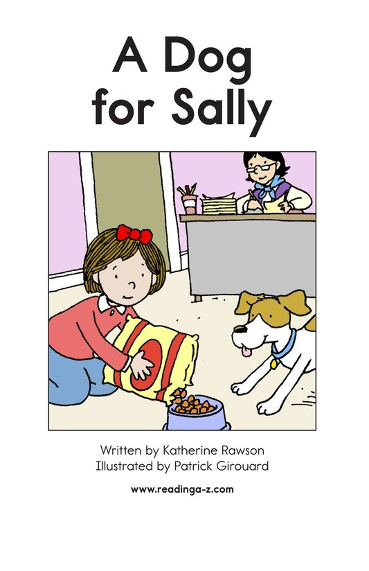 Book Preview For A Dog for Sally Page 2