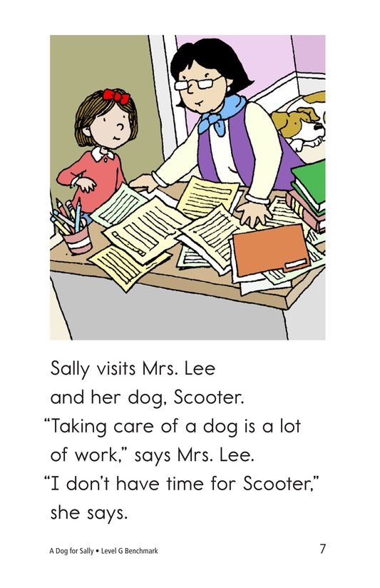 Book Preview For A Dog for Sally Page 7