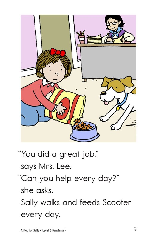 Book Preview For A Dog for Sally Page 9