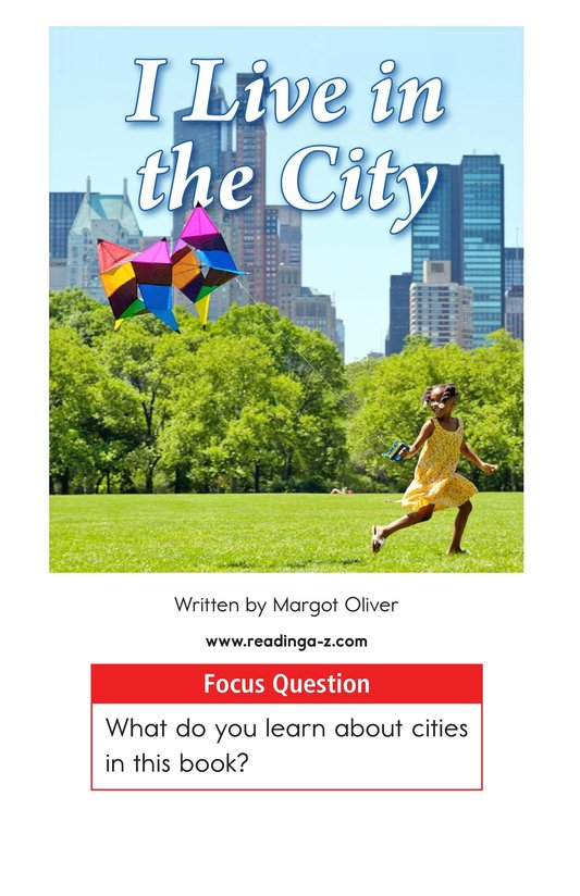 Book Preview For I Live in the City Page 1