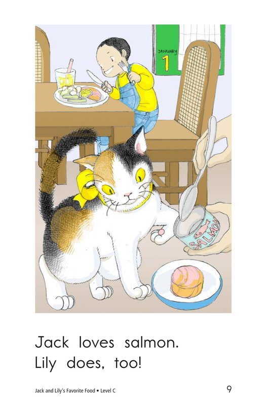 Book Preview For Jack and Lily's Favorite Food Page 9