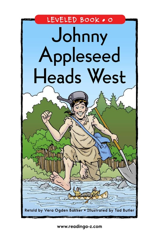 Book Preview For Johnny Appleseed Heads West Page 1
