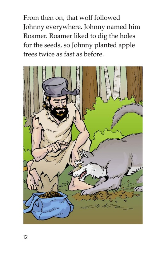 Book Preview For Johnny Appleseed Heads West Page 12