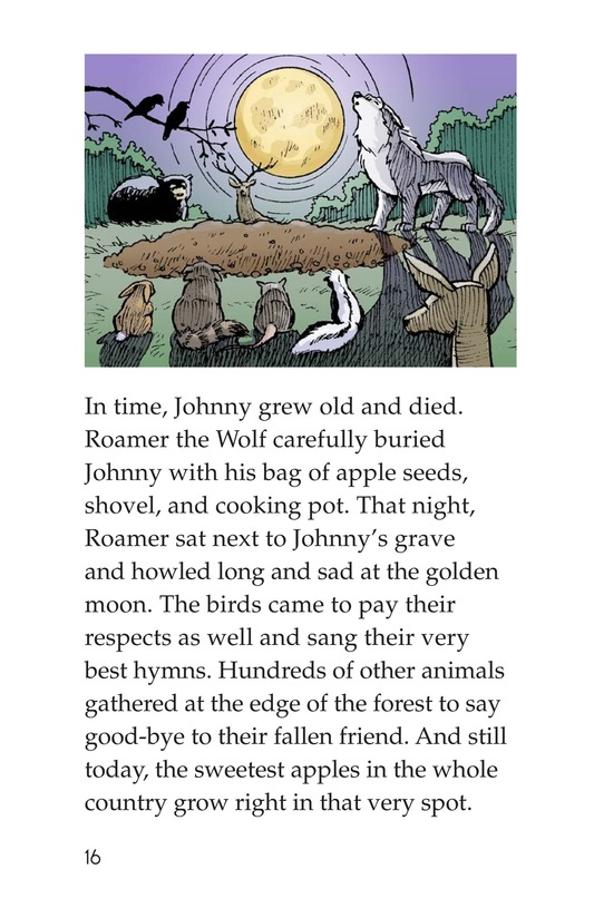 Book Preview For Johnny Appleseed Heads West Page 16