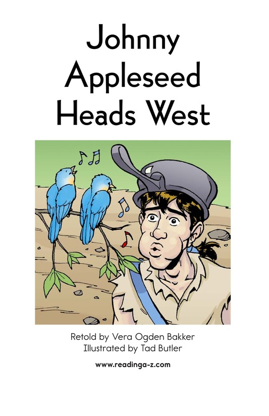 Book Preview For Johnny Appleseed Heads West Page 2