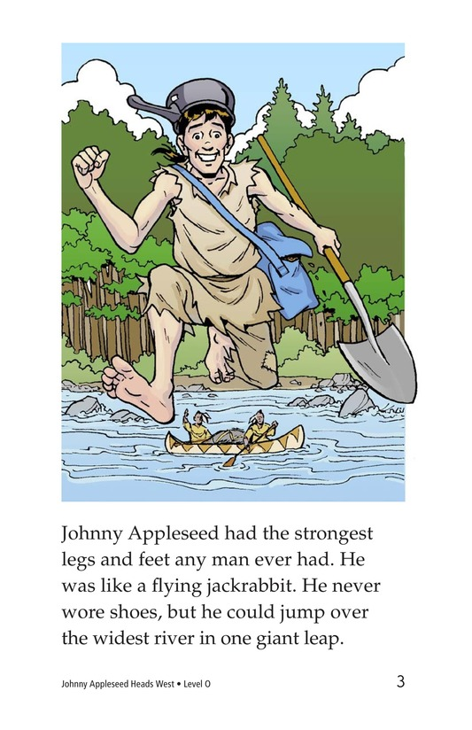 Book Preview For Johnny Appleseed Heads West Page 3
