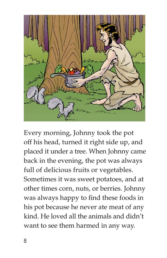 Book Preview For Johnny Appleseed Heads West Page 8