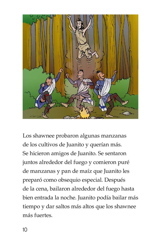 Book Preview For Johnny Appleseed Heads West Page 10