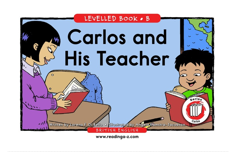 Book Preview For Carlos and His Teacher Page 1