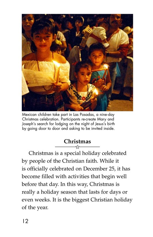 Book Preview For Holidays Around the World Page 12
