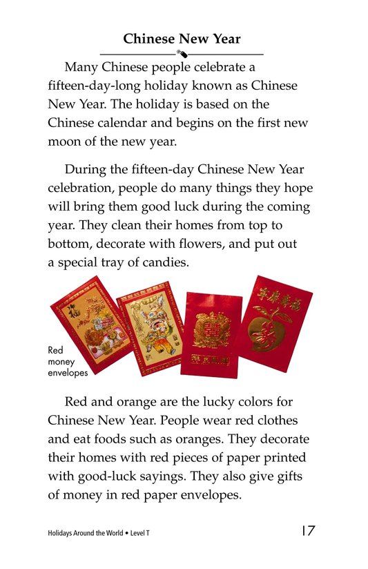 Book Preview For Holidays Around the World Page 17