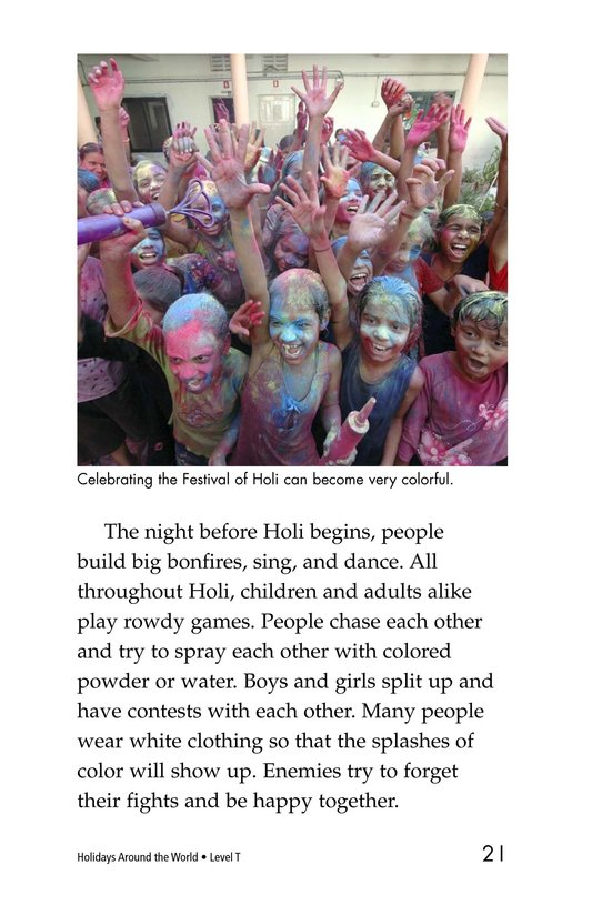 Book Preview For Holidays Around the World Page 21