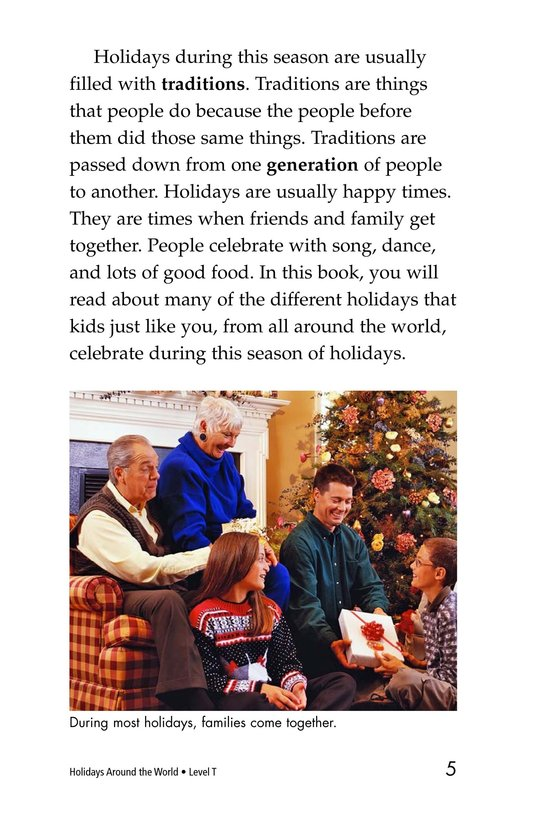 Book Preview For Holidays Around the World Page 5