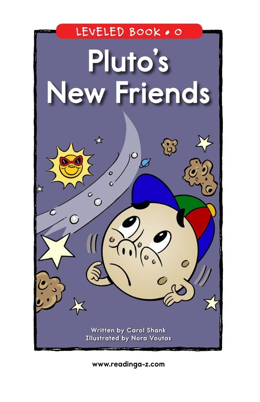 Book Preview For Pluto's New Friends Page 1