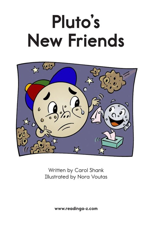 Book Preview For Pluto's New Friends Page 2
